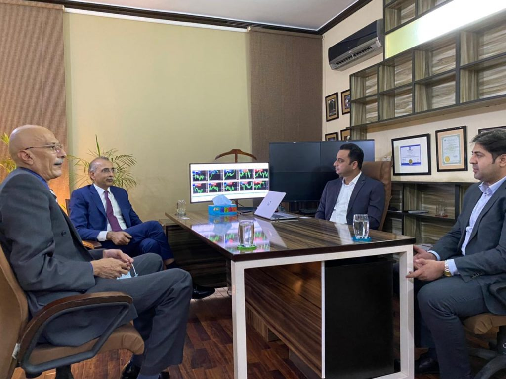 Meeting with M.D PMEX at BCM Office